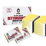 ALPHA MEDICAL® - 12 Stück - Premium Rettungsdecke Gold/Silber im Vorteilspack - 210 x 160cm -...