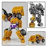 Rikey 6 In 1 Verformung Auto Roboter Spielzeug Leistungsstarke Engineering Fahrzeug Serie Kunststoff...