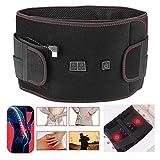 Heizungsgürtel, Ferninfrarot-Vibration Heißkomprimierter Taillengürtel USB-beheizter...