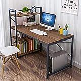 Dripex Holz Schreibtisch Computertisch 120x60x120cm PC-Tisch Bürotisch Officetisch Stabile...