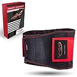 Vigo Sports Rückenbandage - atmungsaktiv & individuell verstallbar zur Linderung und Vorbeugung von...