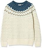 FJÄLLRÄVEN Damen Övik Knit Sweater, Glacier Green, M