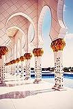Bilderdepot24 Fototapete selbstklebend Scheich Zayid Moschee - Vintage 65x100 cm - Wandposter Tapete...