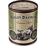 Nostalgic-Art - Harley-Davidson Knucklehead - Spardose, Geschenke für Harley-Davidson Fans, als...