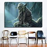 YuanMinglu Science-Fiction-Film Klassische Marmorwand Poster HD Leinwand Kunst Malerei Dekoration...