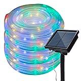 200LED Solar Lichtschlauch Garten,EHOFUN Wasserdicht 72FT LED Solar Rohr Streifen Kupferdraht...