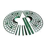 Shuliang 5 PCS Stangenbeet für den Erdbeeranbau, 30 cm Werkzeug für den Anbau von Pflanzen,...