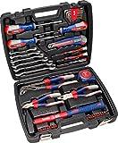 kwb Werkzeug-Koffer inkl. Werkzeug-Set, 42-teilig, gefüllt, robust und hochwertig, ideal für den...