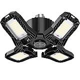 120W LED Deckenleuchte, Elekin 12000LM LED Werkstattlampe 6500K Garagenleuchte Deckenspots...