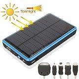 Tragbare Solar-Ladeplatte 2600mAh Handy-Notfall-Kraftwerk mit Solar-Ladegert & LED-Blitzlicht for...