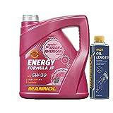 MANNOL 4l, 7914 Energy Formula JP 5W-30 API SN + Oil Leak-Stop Öl Verlust Zusatz 250ml