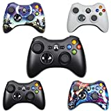 CMDZSW Geeignet for Xbox 360 Wireless/Wired Controller Griff Wireless-Joystick (Color : 2.4G Black)