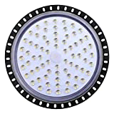 LED Lampe 300W,LED Strahler, UFO Fluter, IP65, 30000LM,6000-6500K Kaltweiß Scheinwerfer...