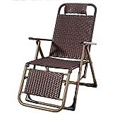 YoLiy Deckchairs Zero Gravity Chair Einstellbare Stahlgitter Folding Rasen Liegesthlen im Freien...