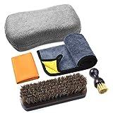 Reinigungs- und Pflegeset für Leder, Pflege und Schutz für Autoinnenraum, Sitzreinigung, Möbel,...