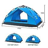 koowaa Campingzelt, Pop-Up, automatische ffnung, 100% UV-geschtzt, fr Rucksackreisen, Nacht,...