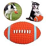 AYADA Hundespielzeug Rugby für Hund, Hundeball Ball Hund Latex Quietschspielzeug Molar Kauspielzeug...