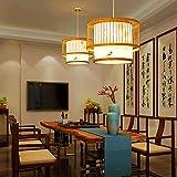 WangWDN Retro Style Laterne Pendelleuchte LED-Deckenleuchte Schlafzimmer Wohnzimmer Deckenleuchter...
