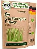 veganflow® Gerstengras Pulver Bio 500g aus Deutschland, laborgeprüftes und reines Bio...