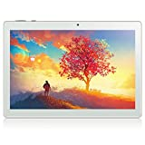 KUNWFNIX Tablet 10 Zoll mit 2.5GHZ Acht-Kern-Prozessor, Android 10.0(GMS-Zertifiziert), 4G LTE, 3GB...