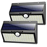 Solarlampen für Außen, [2500 mAh-2600 Lumen] Pxwaxpy 286 LED Solar Bewegungsmelder Aussen...