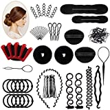 25 PCS Haar Styling Design Zubehör styling Set,Haarzubehör für frisuren,Haar Modellierung Tool...