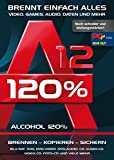 Alcohol 120% Version 12 - Brennen, Kopieren, Sichern - die ultimateive Brennsoftware für Windows...