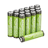 AmazonBasics – AAA-Batterien mit hoher Kapazität, wiederaufladbar, 850 mAh (16er-Pack),...