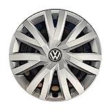 Volkswagen 5G0071456 YTI Radkappen Radzierblenden für Stahlfelgen - 4 Stück, Silber...
