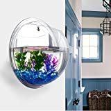 Demiawaking Pflanzgefäß für Zimmerpflanzen, Wandaquarium, aus Acryl, Wanddekoration Specchio