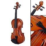 Bolange 1/8 Gre akustische Violine Geige Kit Set Rotlicht fr Studenten Starter Anfnger...
