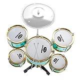 C Five Simulation Jazz Drum Kinder Musical Instrument Set, Kleiner Schatz Kinder Großes Fünf-Drum...