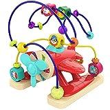 TOP BRIGHT Motorikschleife ab 1 Jahr, Holzspielzeug ab 1 Jahr Junge und Mädchen, Pädagogisches...