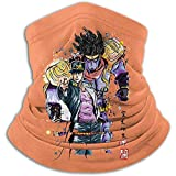 RJ Unique Neck Gaiter,Jo-Jo'S Bizarre Adventure Head Wrap, Premium Neck Gamasche Für Sport Running...