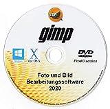 GIMP 2020 Bildeditor Premium Professional Bildbearbeitungssoftware für Windows 10 8.1 8 7 Vista XP,...