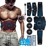 EMS Trainingsgerät Bauchmuskeltrainer Upgraded USB Wiederaufladbar Muskelstimulation für Bauch...