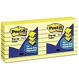 Post-it Pop-Up Note Refills, 3x 3, kanariengelb, sechs 100-sheet Pads/Pack