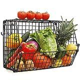 Chas Bete Hängekörbe für die Küche zur Aufbewahrung von Obst und Gemüse mit S-Haken,...