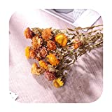 Art Flower Natürlich getrocknete, künstliche Chrysanthemen, Blumenstrauß, Blumendeko, künstliche...