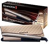Remington Glätteisen Keratin Therapy (Hitzeschutzsensor um Haarschäden zu verringern, hochwertige...