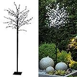 Tronje LED Baum Kirschblüten 180 cm - 200 LEDs Kirschblütenbaum warmweiß Deko Lichterbaum...