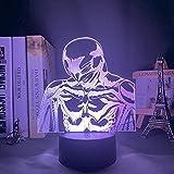 3D kreatives Nachtlicht Anime LED Nachtlicht Berserk für Schlafzimmer Dekor Geschenk Buntes...
