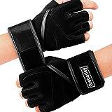 Grebarley Fitness Handschuhe Trainingshandschuhe,Leicht Gewichtheben Ideal zum Gewichtheben,Crossfit...