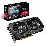 ASUS Dual AMD Radeon RX5500 XT 8GB EVO OC Edition Gaming Grafikkarte (GDDR6 Speicher, PCIe 3.0, 1x...