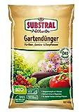 Substral Naturen Bio Gartendünger, natürlicher Universaldünger für Obst- Gemüse- und...