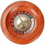 Ansudam Holz Roulette Rad, 12-Zoll-spaß Freizeit Unterhaltung Roulette-tische Spiel Plattenspieler...