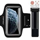 PORTHOLIC Sport Armband Fitness fr iPhone 11 Pro 11 XR, Galaxy S10 S9 S8, Huawei P20,...