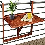 Balkontisch Balkonhängetisch Hängetisch Klappbar Klapptisch Balkon Tisch Holz