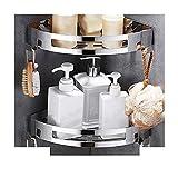 Badezimmer Eckregale Wand befestigten Edelstahl Regal-Wand-Duschkorb for Dusche Küchenzubehör...
