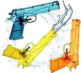 TK Gruppe Timo Klingler 3er Wasserpistole Set - Wasserspritzpistole Spritzpistole klein Mini Wasser...